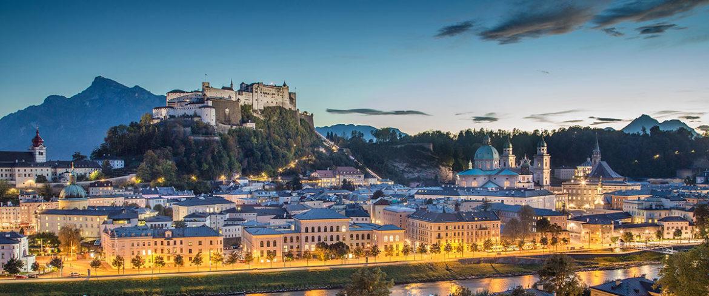 Altstadt Salzburg, Österreich