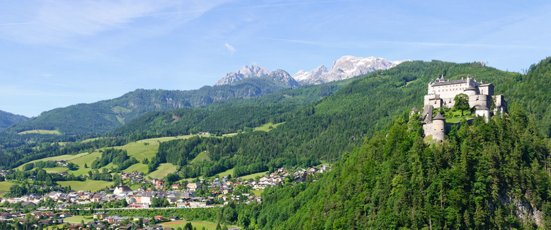 Burg Hohenwerfen, beliebtes Ausflugsziel im Salzburger Land