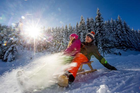 Rodeln - Winter- & Skiurlaub in Radstadt, Ski amadé