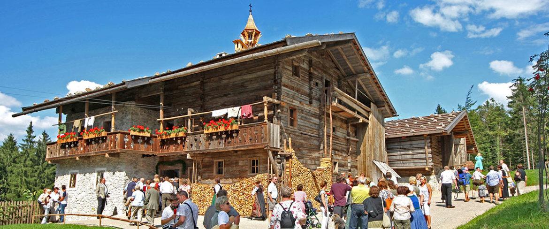 Volkskundemuseum, beliebtes Ausflugsziel im Salzburger Land